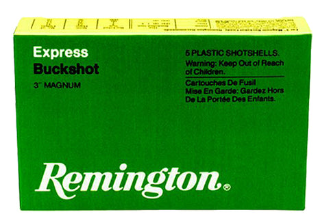 "Remington Ammunition 12HB4 Express Magnum 12 Gauge 3"" Buckshot 41 Pellets 4 Buck 5 Bx/ 50 Cs"