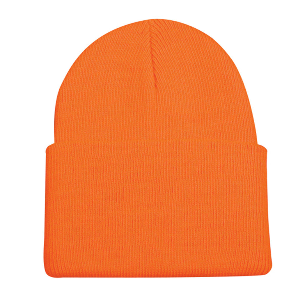 Outdoor Cap Knit Watch Cap Blaze Orange