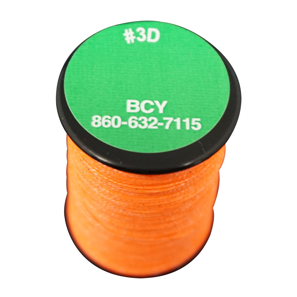 BCY 3D End Serving Neon Orange 120 yds.