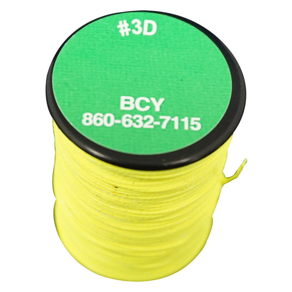 BCY 3D End Serving Neon Yellow 120 yds.