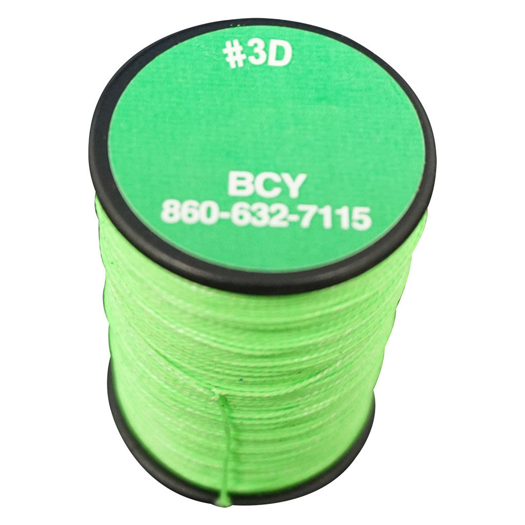 BCY 3D End Serving Neon Green 120 yds.