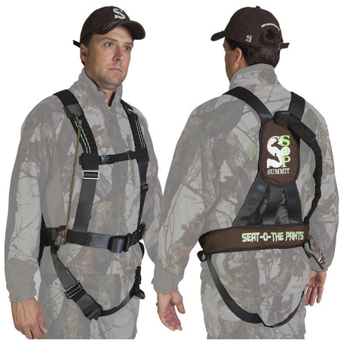 Summit STS Fastbck Harness MD Realtree