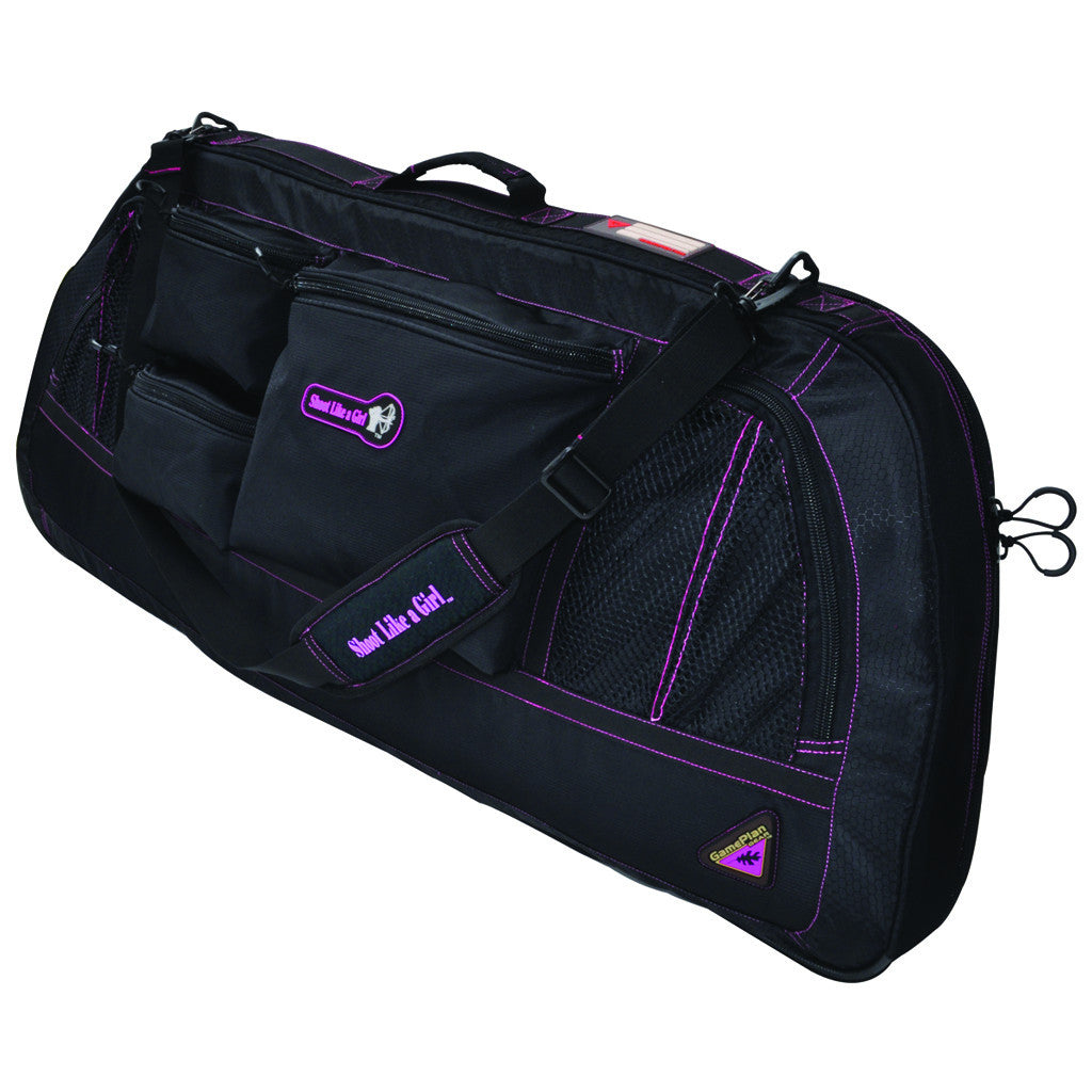 Game Plan Gear Shoot Like A Girl Bow/Case Black/Magenta