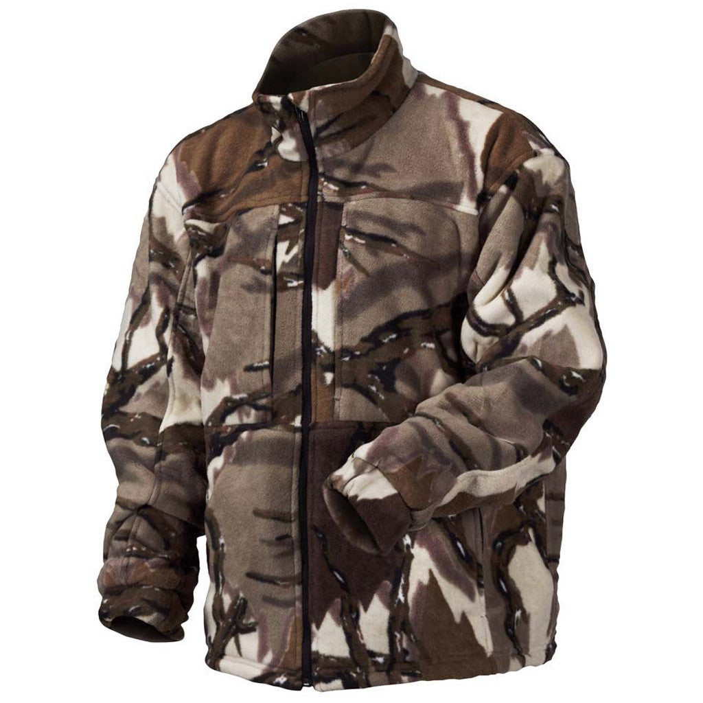 Predator Stealth Fleece Jacket Brown Deception Large