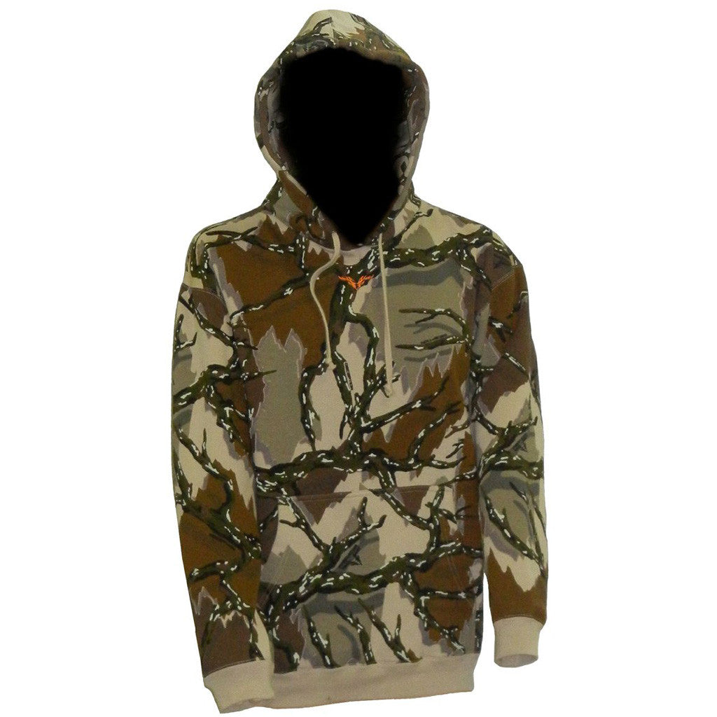Predator Legacy Hoodie Brown Deception Large