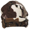 Predator Fleece Beanie Brown Deception One Size