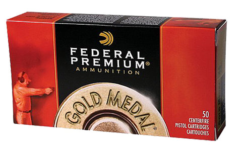 Federal GM45B Premium 45 ACP Full Metal Jacket Semi Wadcutter 185 GR 50Bx/20Case