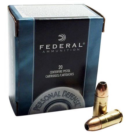 Federal C44A Standard 44 Rem Mag Jacketed Hollow Point 240 GR 20Box/25Case