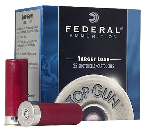 "Federal TG12275 Top Gun  12 Gauge 2.75"" 1 oz 7.5 Shot 25 Bx/ 10 Cs"