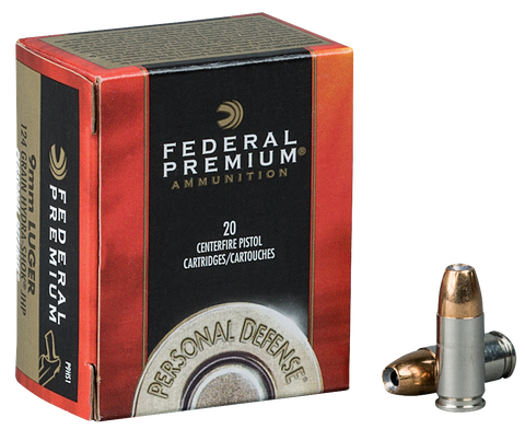 Federal P44HS1 Premium 44 Remington Magnum Hydra-Shok JHP 240 GR 20Box/25Case