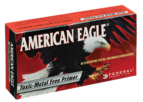 Federal AE40R2 American Eagle 40 Smith & Wesson (S&W) 155 GR Full Metal Jacket 50 Bx/ 20 Cs