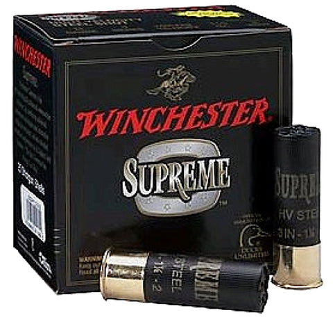 "Winchester Ammo SSH102 Drylock Super Steel High Velocity 10 Gauge 3.5"" 1 3/8 oz 2 Shot 25 Bx/ 10 Cs"