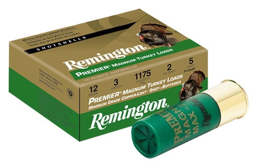 "Rem P12XHM4 Turkey 12ga 3"" 2 oz 4 Shot Copper-Plated Lead 10Box/10Case"
