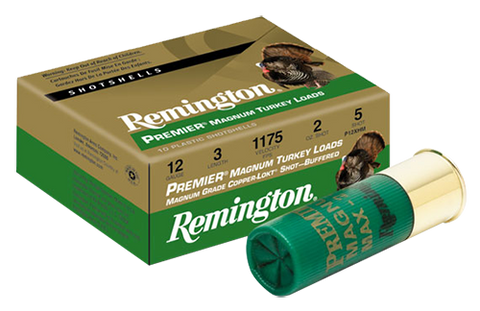 "Rem P10HM4 Turkey 10ga 3.5"" 2-1/4 oz 4 Shot Copper-Plated Lead 10Box/10Case"