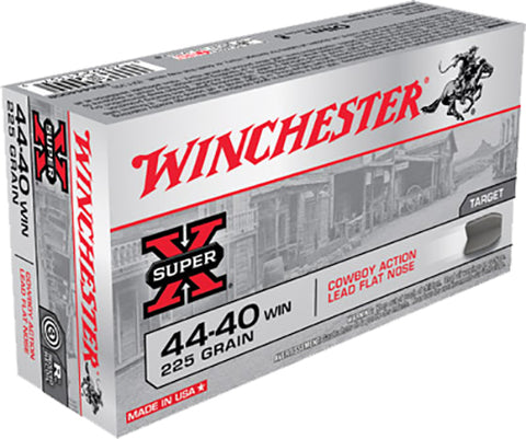 Winchester Ammo USA4440CB USA 44-40 Winchester 225 GR Lead 50 Bx/ 10 Cs