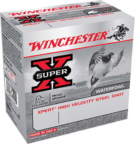 "Winchester Ammo WEX123HBB Super X Xpert High Velocity 12 Gauge 3"" 1 1/4 oz BB Shot 25 Bx/ 10 Cs"