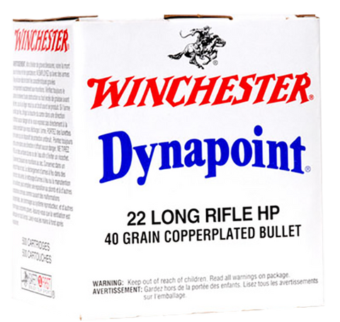 Winchester Ammo WD22LRB Best Value 22 Long Rifle (LR) 40 GR Dynapoint 500 Bx/ 10 Cs - 5000 Rounds