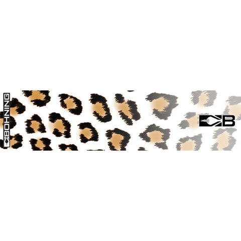 Bohning HD Arrow Wrap White Leopard 4 in. 13 pk.