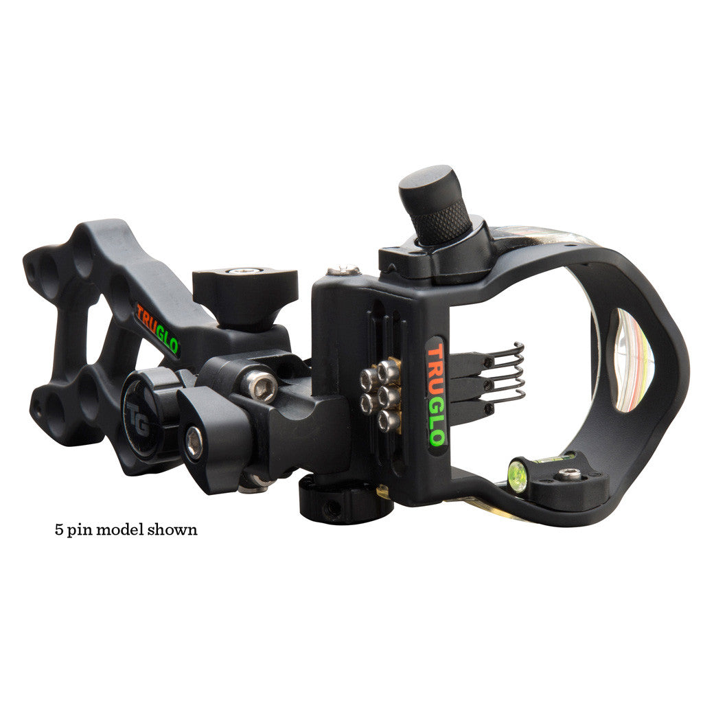 TruGlo Rival Hunter 3 Sight Black 3 Pin RH/LH