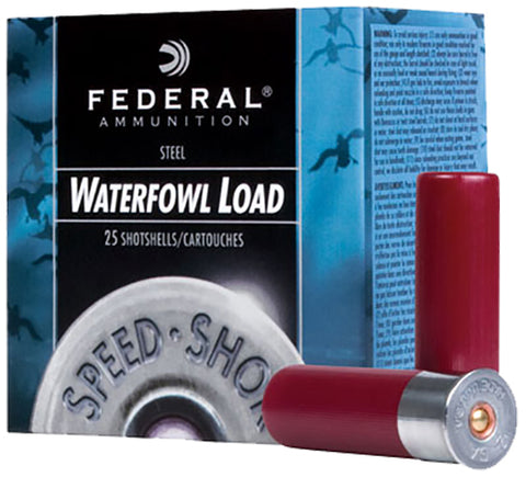 "Federal WF1433 Speed-Shok  12 Gauge 3"" 1 1/8 oz 3 Shot 25 Bx/ 10 Cs"