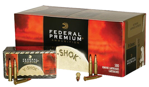 Federal P770 V-Shok 17 Hornady Magnum Rimfire (HMR) 17 GR TNT Jacketed Hollow Point 50 Bx/ 60 Cs