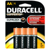 Duracell Coppertop Battery AA 4 pk.