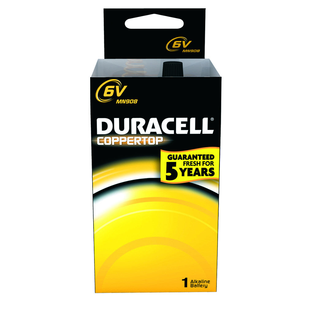 Duracell Coppertop Battery 6 Volt 1 pk.