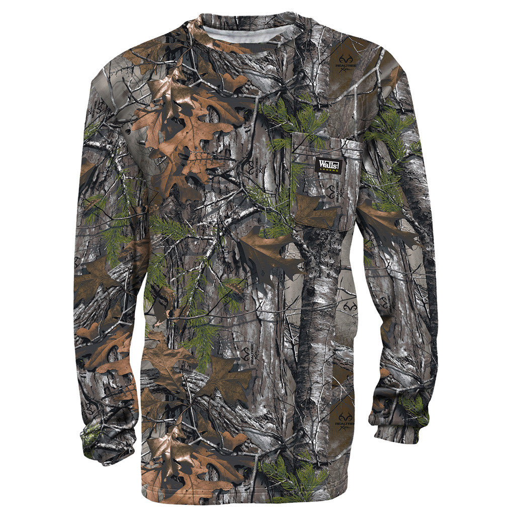 Walls Long Sleeve T-Shirt Realtree Xtra X-Large