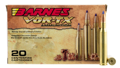 Barnes 21524 VOR-TX 270 Winchester 130GR Tipped TSX Boat Tail 20Box/10Case