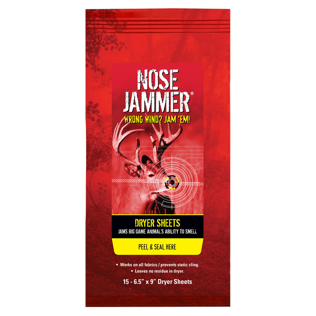Nose Jammer Dryer Sheets 20 pk.