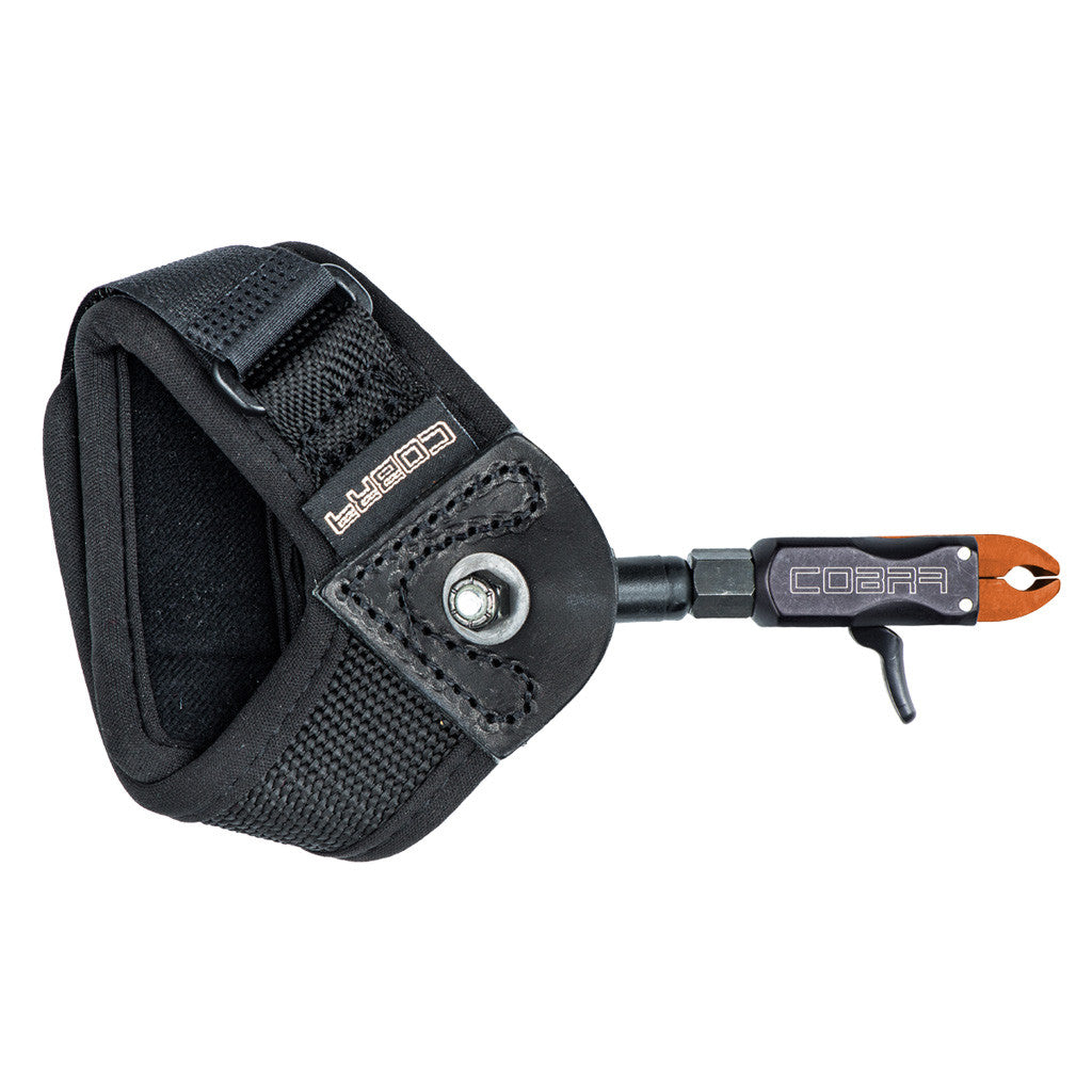 Cobra Bravo Junior Release Black Loop Lock Strap