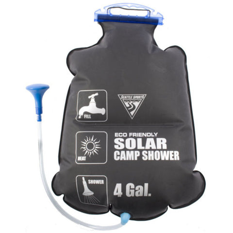 Seattle Sports PVC Free Solar Shower, 4 Gallon