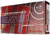 Hornady 80264 Superformance Match 223 Remington/5.56 NATO 75 GR Hollow Point Match Boat Tail 20 Bx/ 10 Cs
