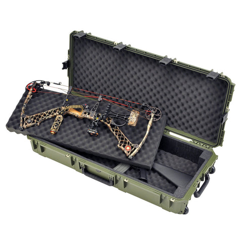 SKB iSeries Double Bow/Rifle Case Green 42""