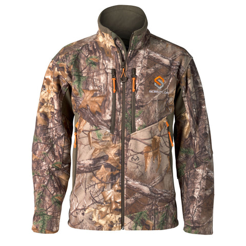 Scent-Lok Covert Deluxe Fleece Jacket Realtree Xtra Medium