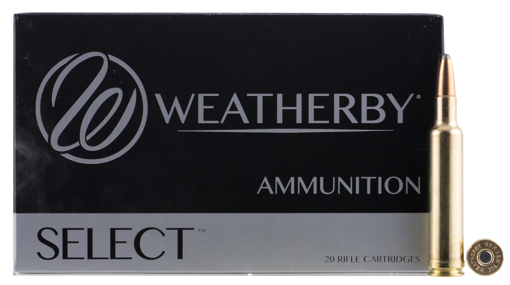 Weatherby G270130SR Norma 270 Weatherby Magnum Spitzer 130 GR 20Rds