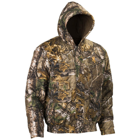 Browning Wasatch Hooded Jacket Realtree Xtra Medium