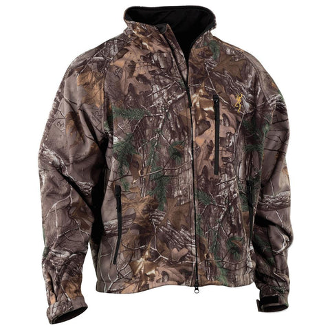 Browning Wasatch Soft Shell Jacket Realtree Xtra X-Large