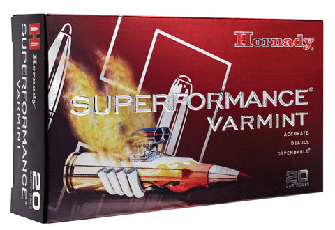 Hornady 8334 Superformance Varmint 22-250 Remington 35 GR NTX Lead-Free 20 Bx/ 10 Cs