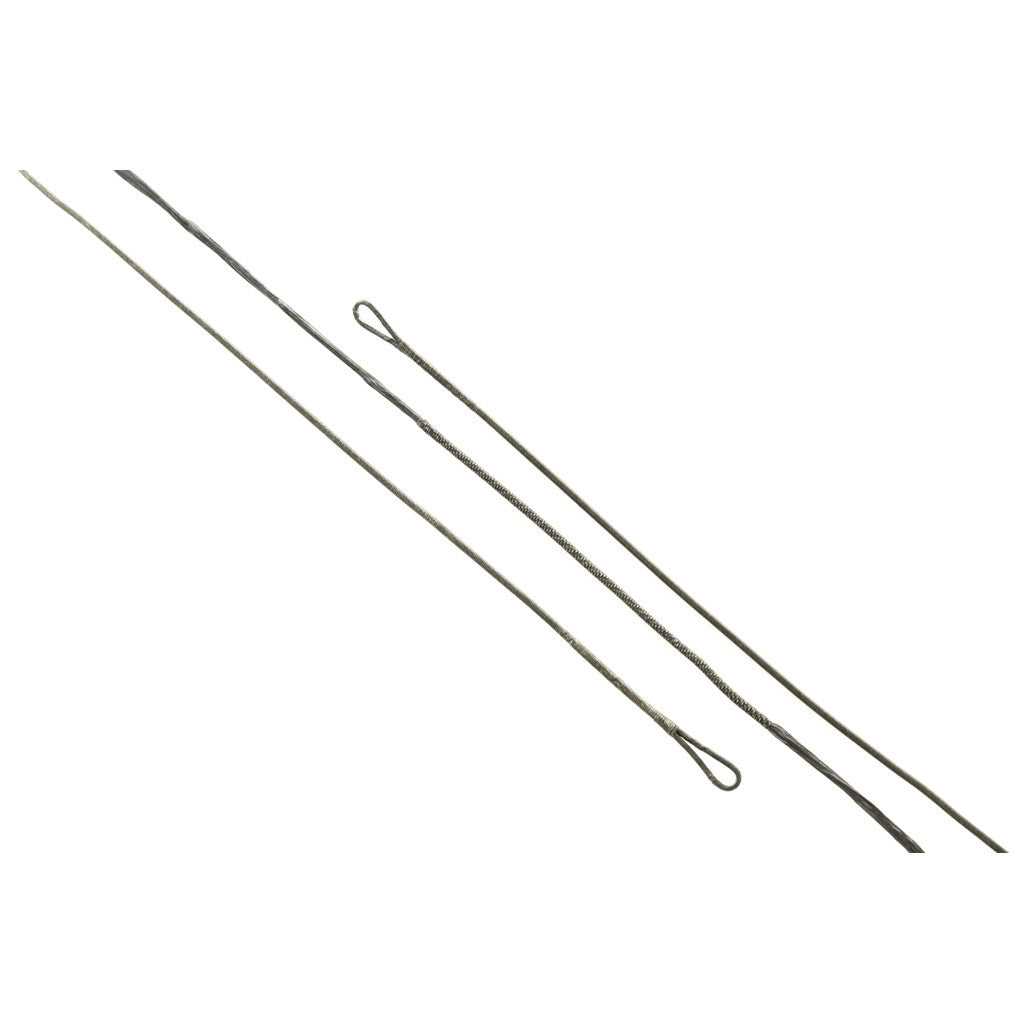 J and D Teardrop Bowstring Black B50 36 in. 14 Strand