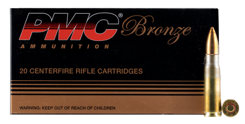 PMC 762A Bronze 7.62X39 Full Metal Jacket 123 GR 20Box/25Case