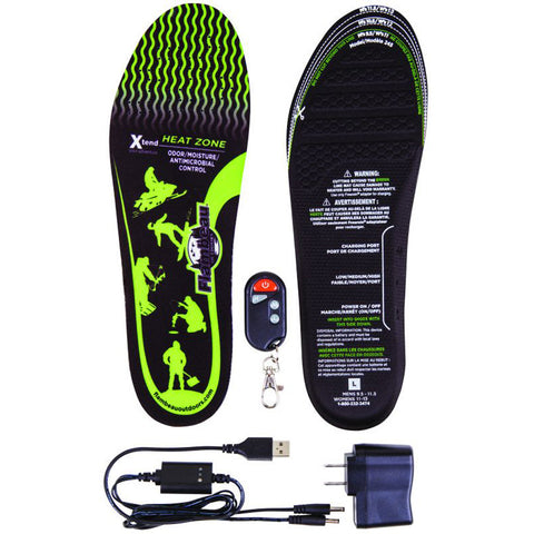 Flambeau Heated Insoles Kit Large