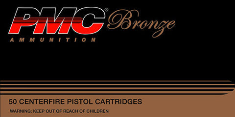 PMC 9B Bronze 9mm Jacketed Hollow Point 115GR 50 Box/20 Case