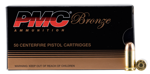 PMC 380A Bronze 380 Automatic Colt Pistol Full Metal Jacket 90 GR 50Box/20Case