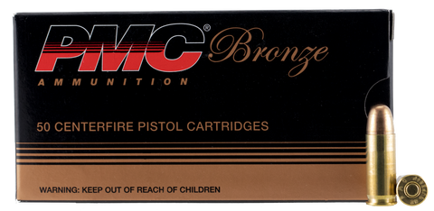 PMC 38SA Bronze 38 Super +P Full Metal Jacket 130 GR 50Box/20Case
