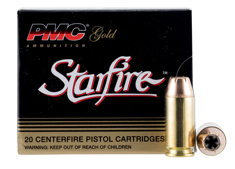 PMC 40SFA Starfire Gold Line 40 S&W Starfire Hollow Point 180GR 20Box/50Case