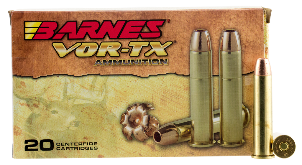 Barnes 21579 VOR-TX 45-70 Government 300GR TSX Flat Nose 20Box/10Case
