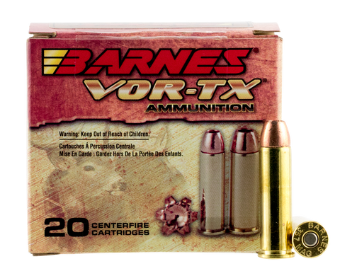 Barnes 21543 VOR-TX Handgun Hunting 357 Remington Magnum XPB 140 GR 20Box/10Case