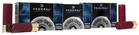 "Federal F103FRS Power-Shok 10 Gauge 3.5"" 1-3/4 oz Slug Shot 5 Bx/ 50 Cs"