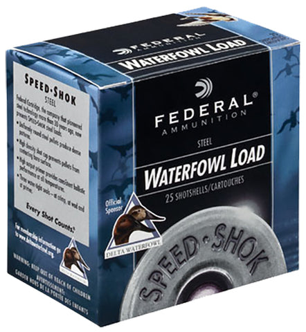 "Federal WF107BBB Speed-Shok  10 Gauge 3.5"" 1 1/2 oz BBB Shot 25 Bx/ 10 Cs"